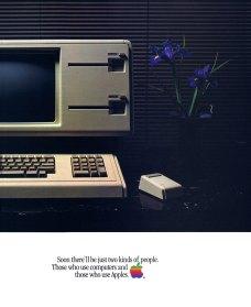 Apple Ads 70s, 80s, 90s